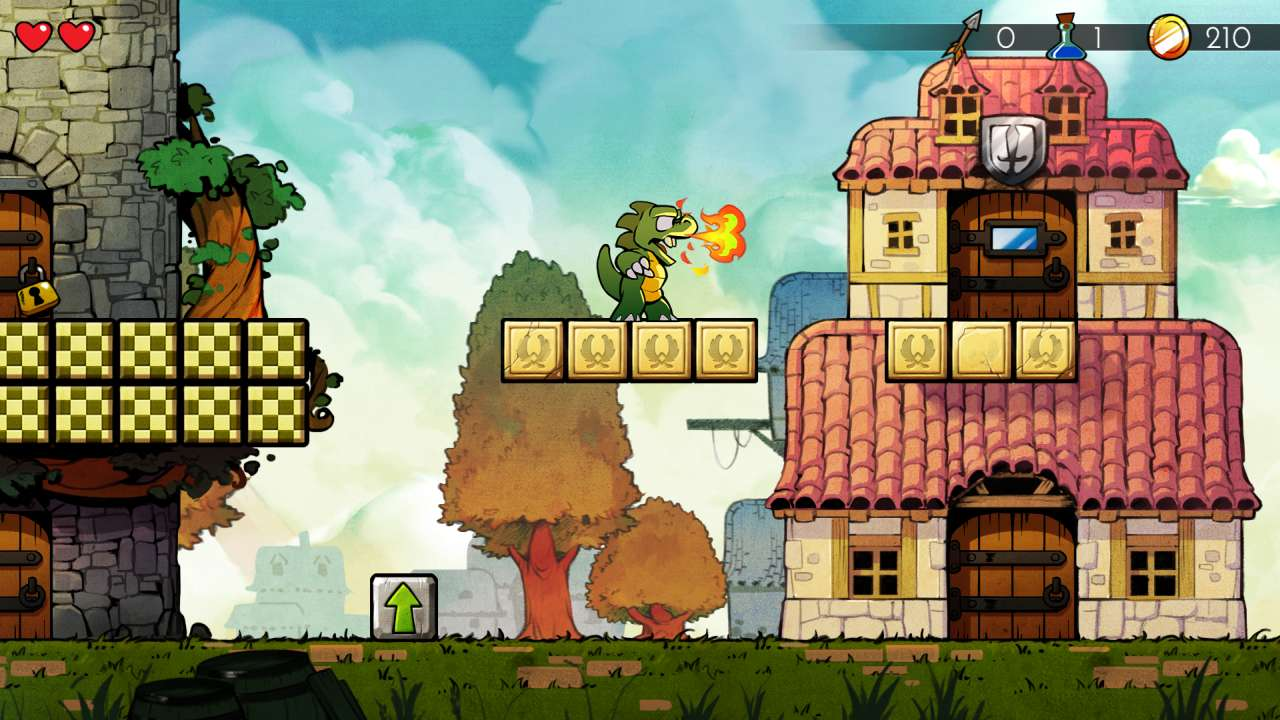 Screenshot from Wonder Boy: The Dragon's Trap (7/10)