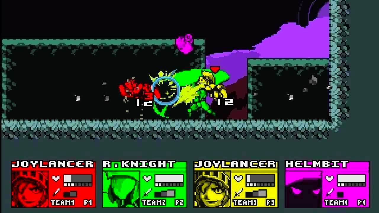 Screenshot from The Joylancer: Legendary Motor Knight (7/7)
