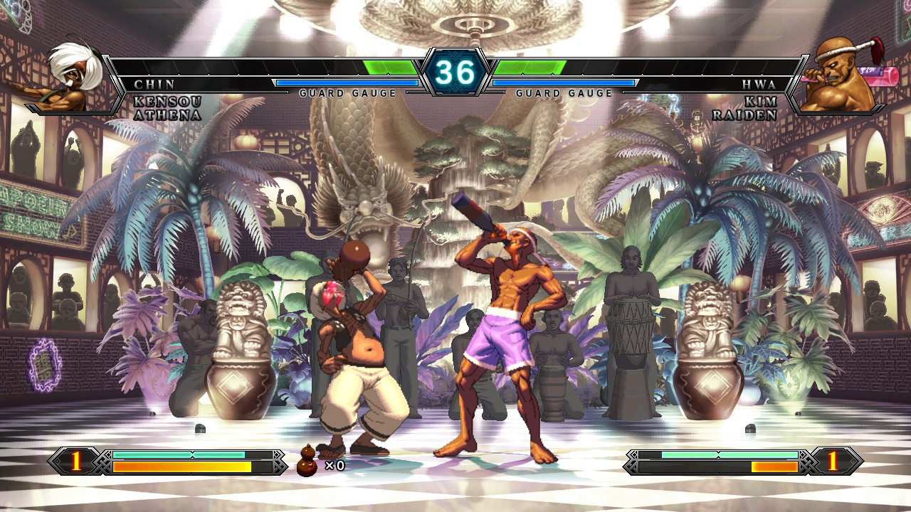 Screenshot from The King of Fighters XIII (10/10)