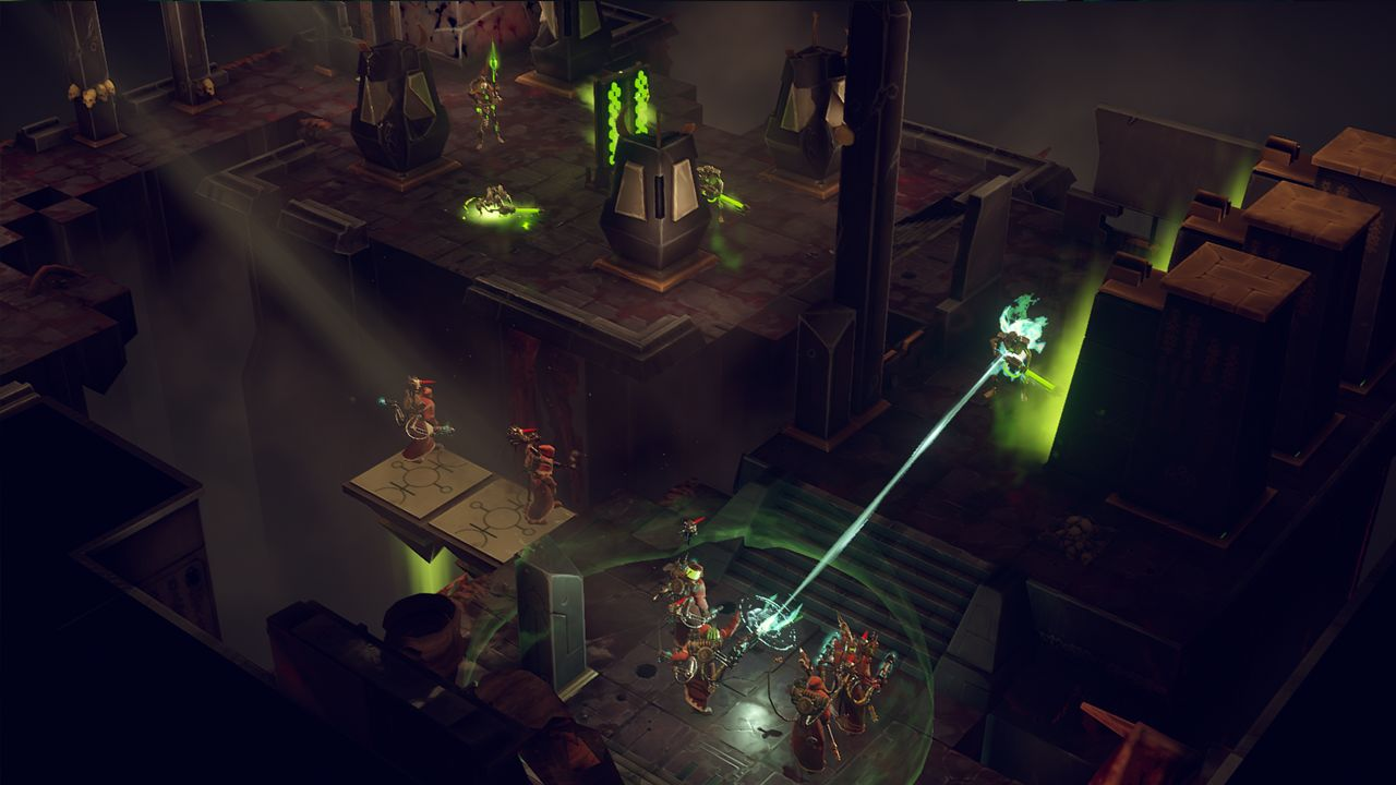 Screenshot from Warhammer 40,000: Mechanicus (7/9)