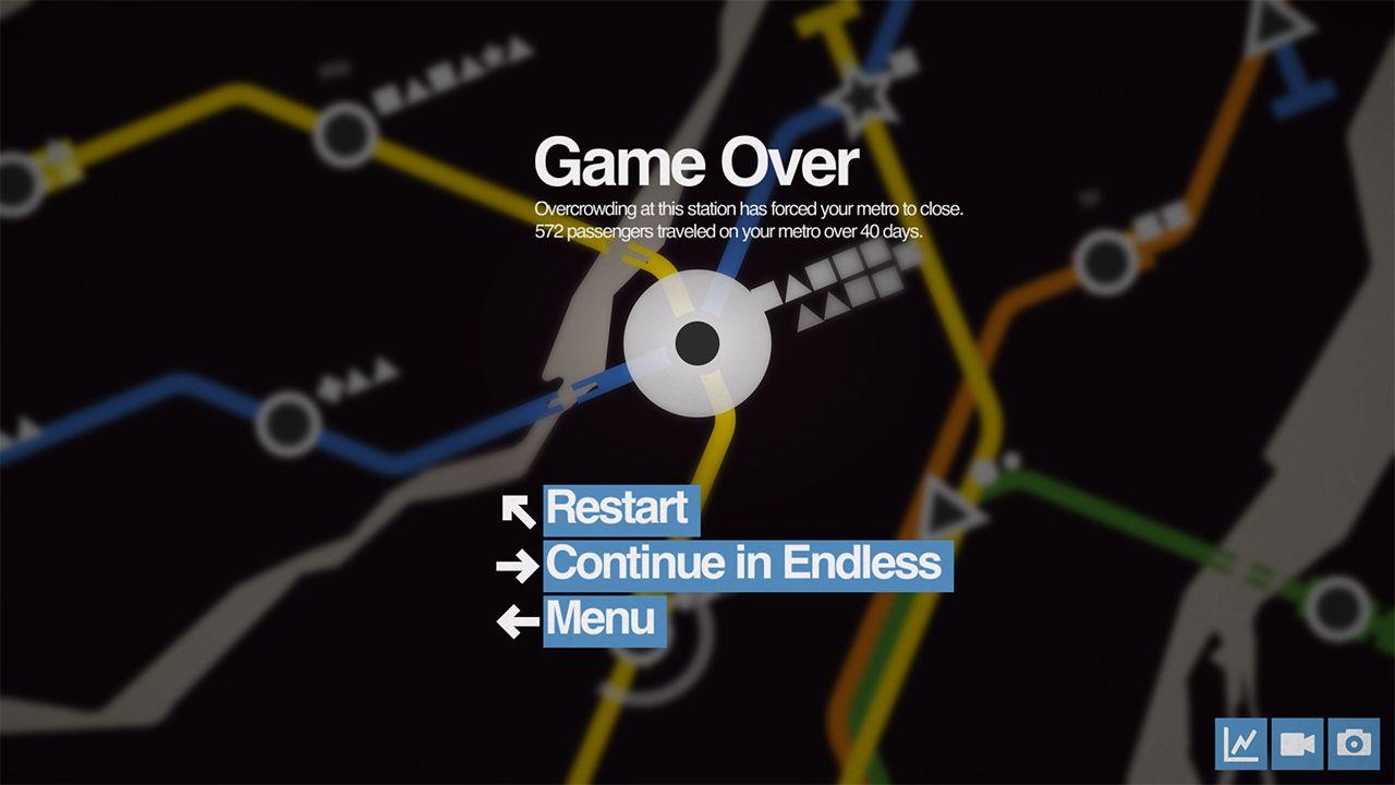 Screenshot from Mini Metro (5/9)