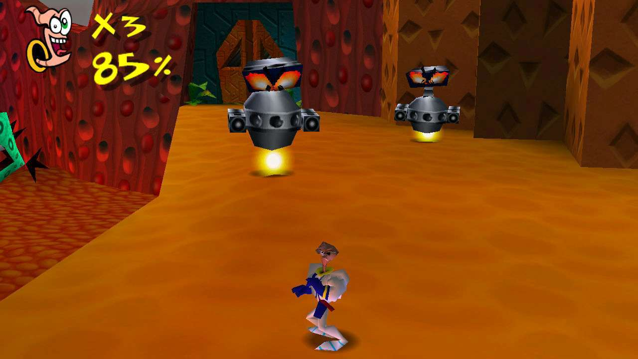 Screenshot from Earthworm Jim 3D (5/7)