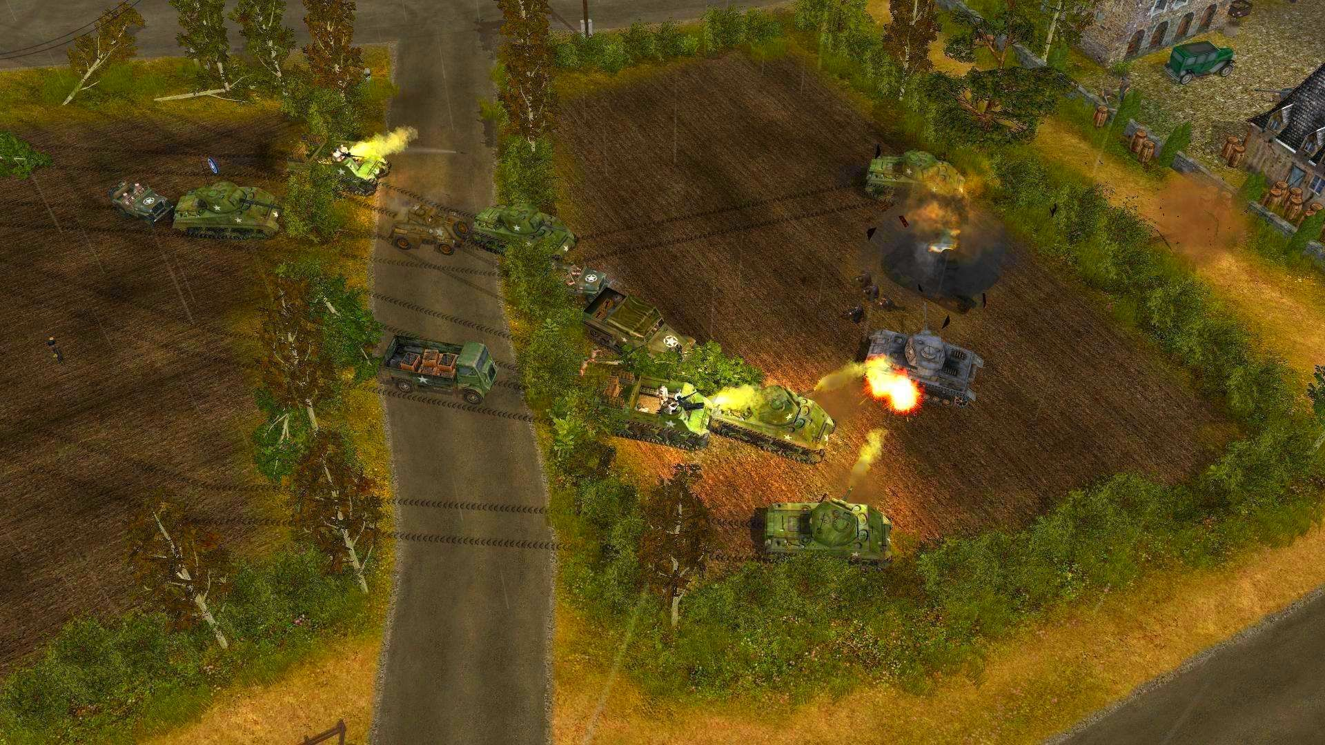 Screenshot from Codename: Panzers, Phase One (5/9)