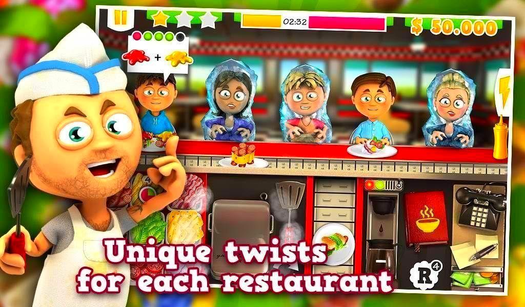 Screenshot from Youda Sushi Chef 2 (4/4)