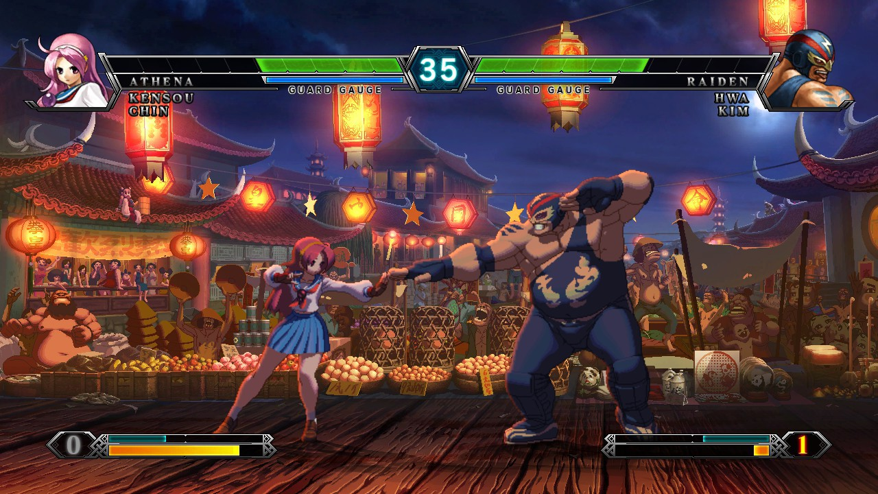 Screenshot from The King of Fighters XIII (3/10)