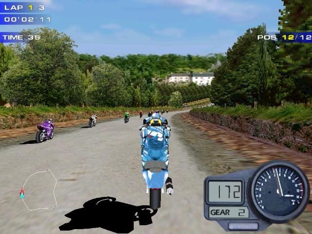 Screenshot from Moto Racer 2 (3/6)