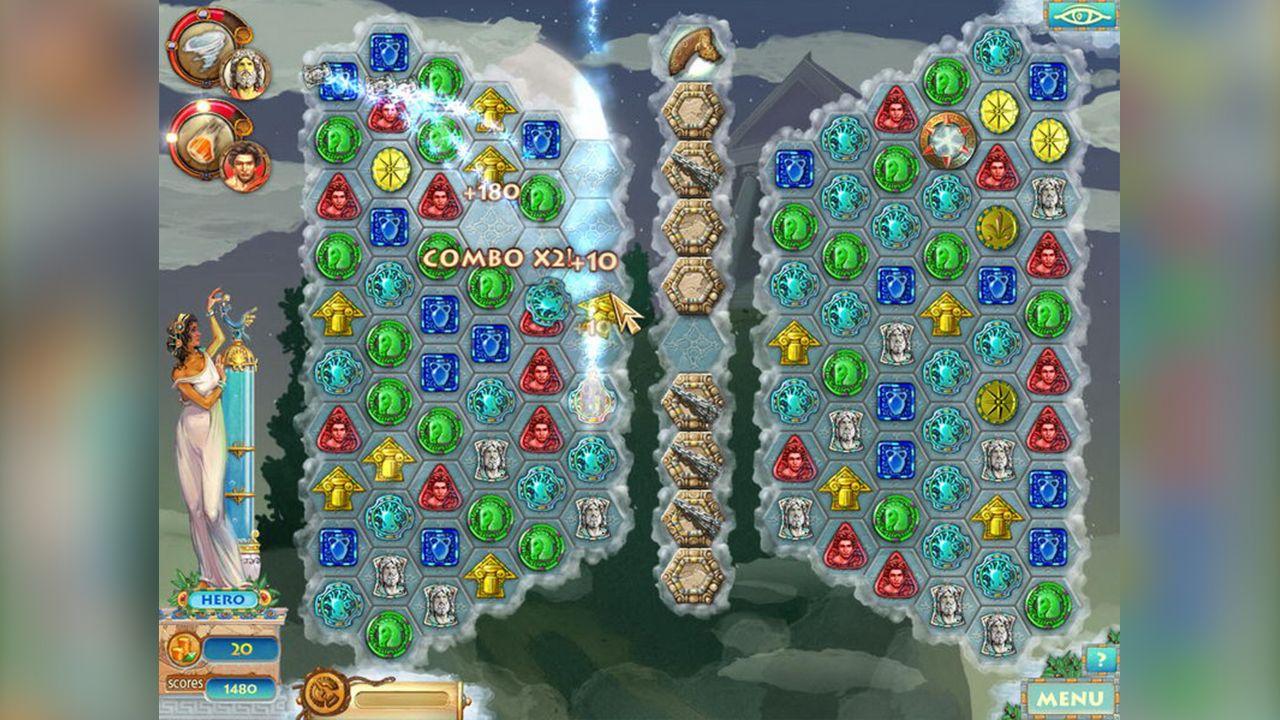 Screenshot from Heroes of Hellas 2: Olympia (6/8)