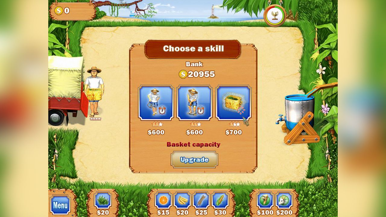 Screenshot from Tropical Farm (7/8)