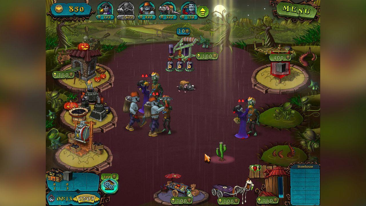 Screenshot from Vampires VS Zombies (5/8)