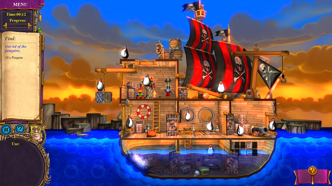 Screenshot from Elementary My Dear Majesty! (2/6)