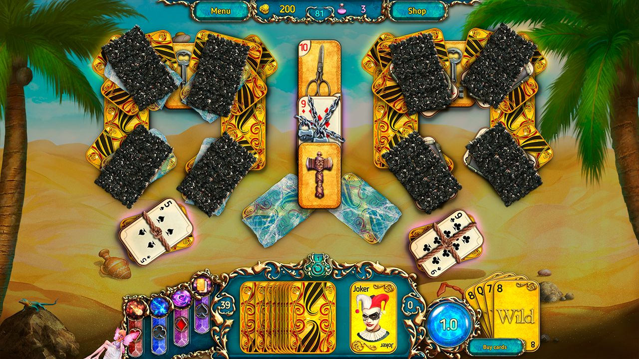 Screenshot from Dreamland Solitaire: Dark Prophecy Collector's Edition (5/8)
