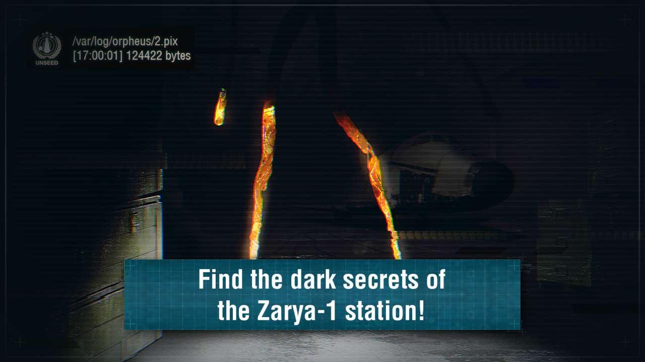 Screenshot from Zarya-1: Mystery on the Moon (1/5)