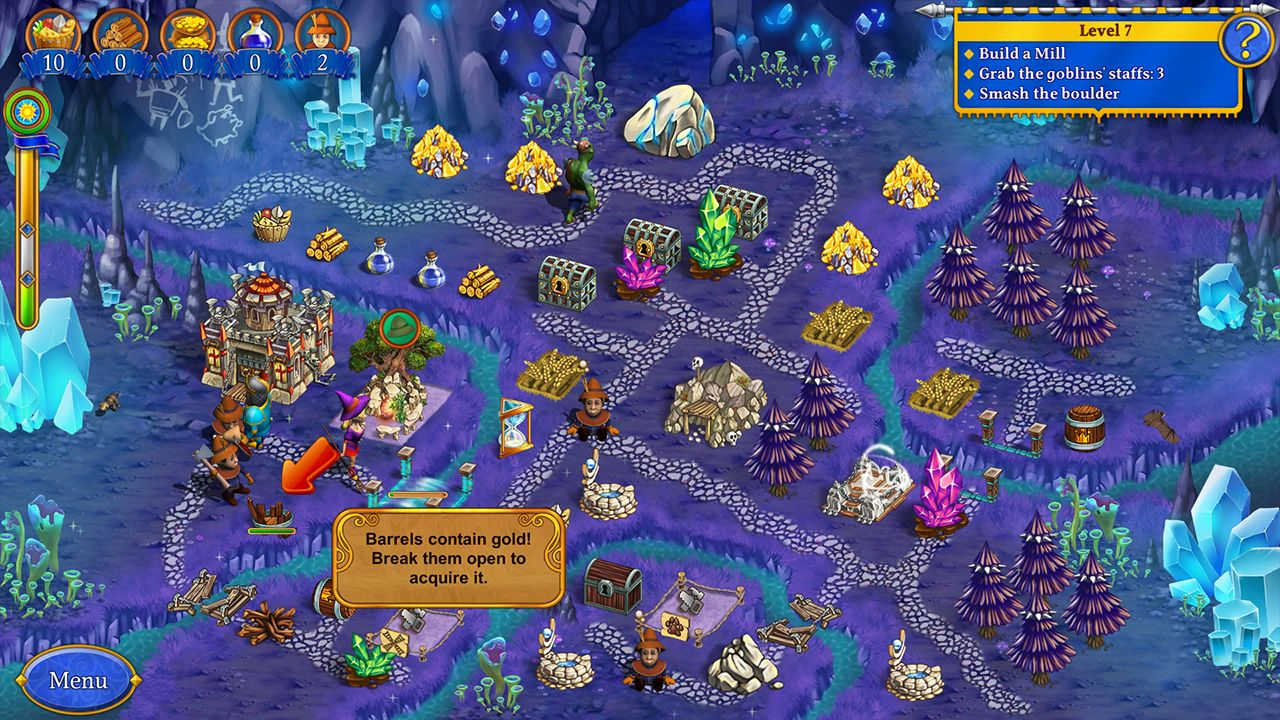 Screenshot from New Yankee 9: The Evil Spellbook Collector's Edition (4/10)