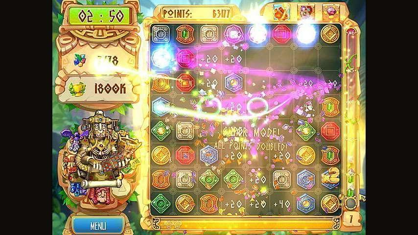 Screenshot from The Treasures of Montezuma 5 (7/7)