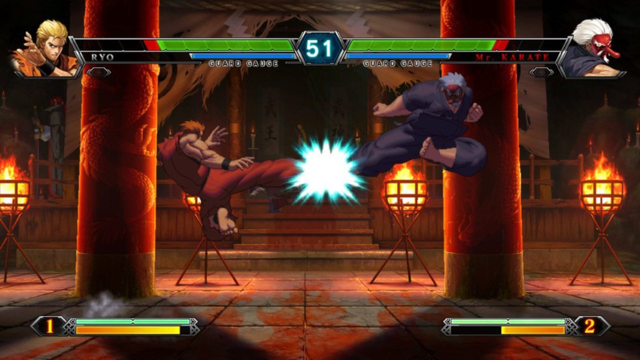 Screenshot from The King of Fighters XIII (6/10)