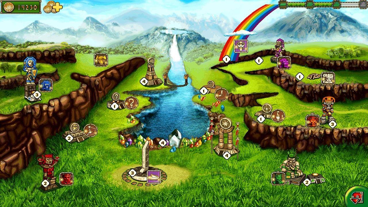 Screenshot from The Treasures of Montezuma 2 (3/5)