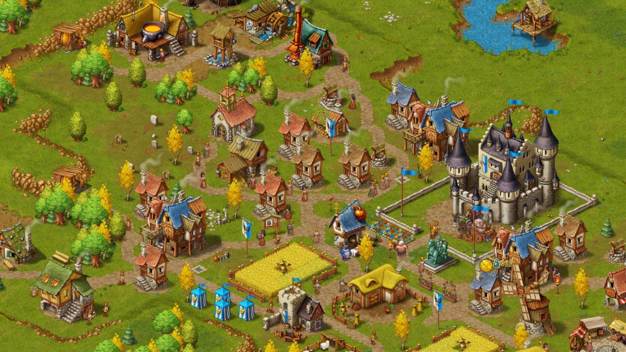 Screenshot from Townsmen - A Kingdom Rebuilt (5/5)