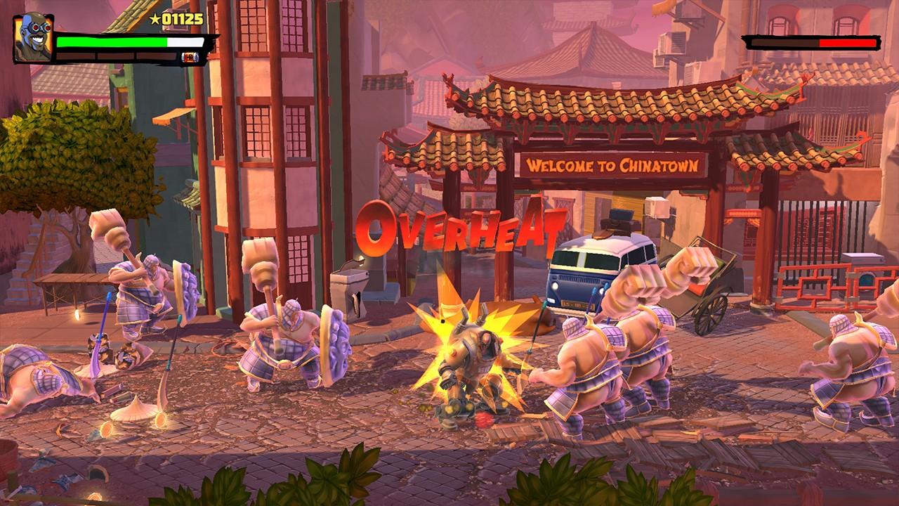Screenshot from Shaq Fu: A Legend Reborn (7/7)