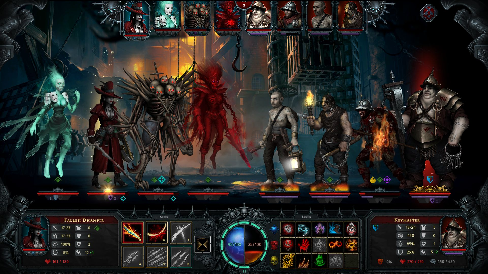 Screenshot from Iratus: Lord of the Dead (6/8)