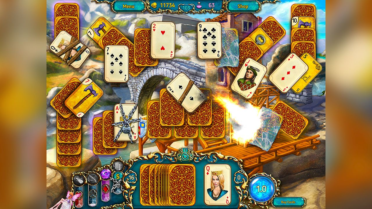 Screenshot from Dreamland Solitaire (2/8)