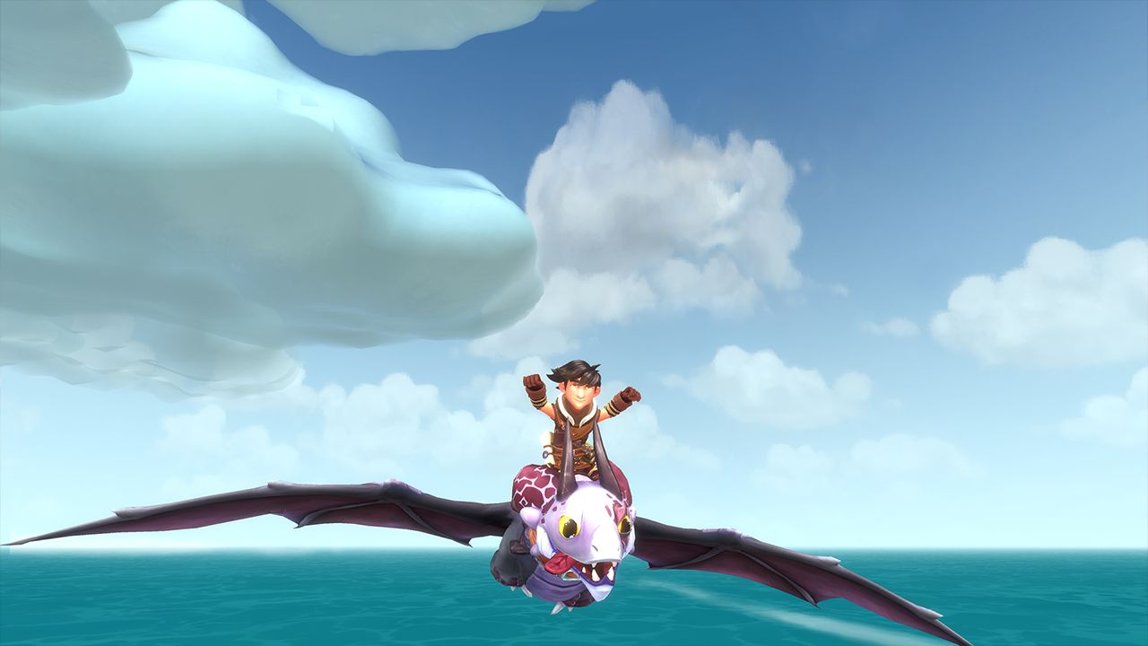 Screenshot from DreamWorks Dragons: Dawn of New Riders (4/9)