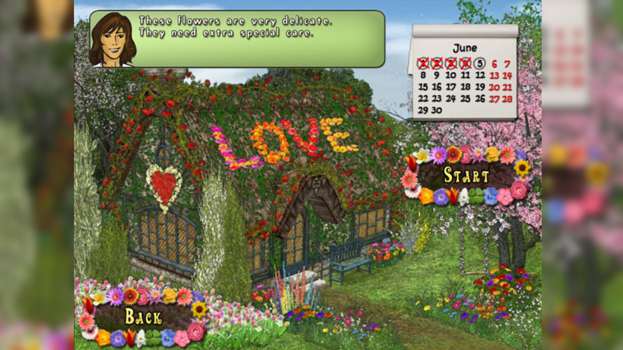 Screenshot from Flowery Vale (4/5)