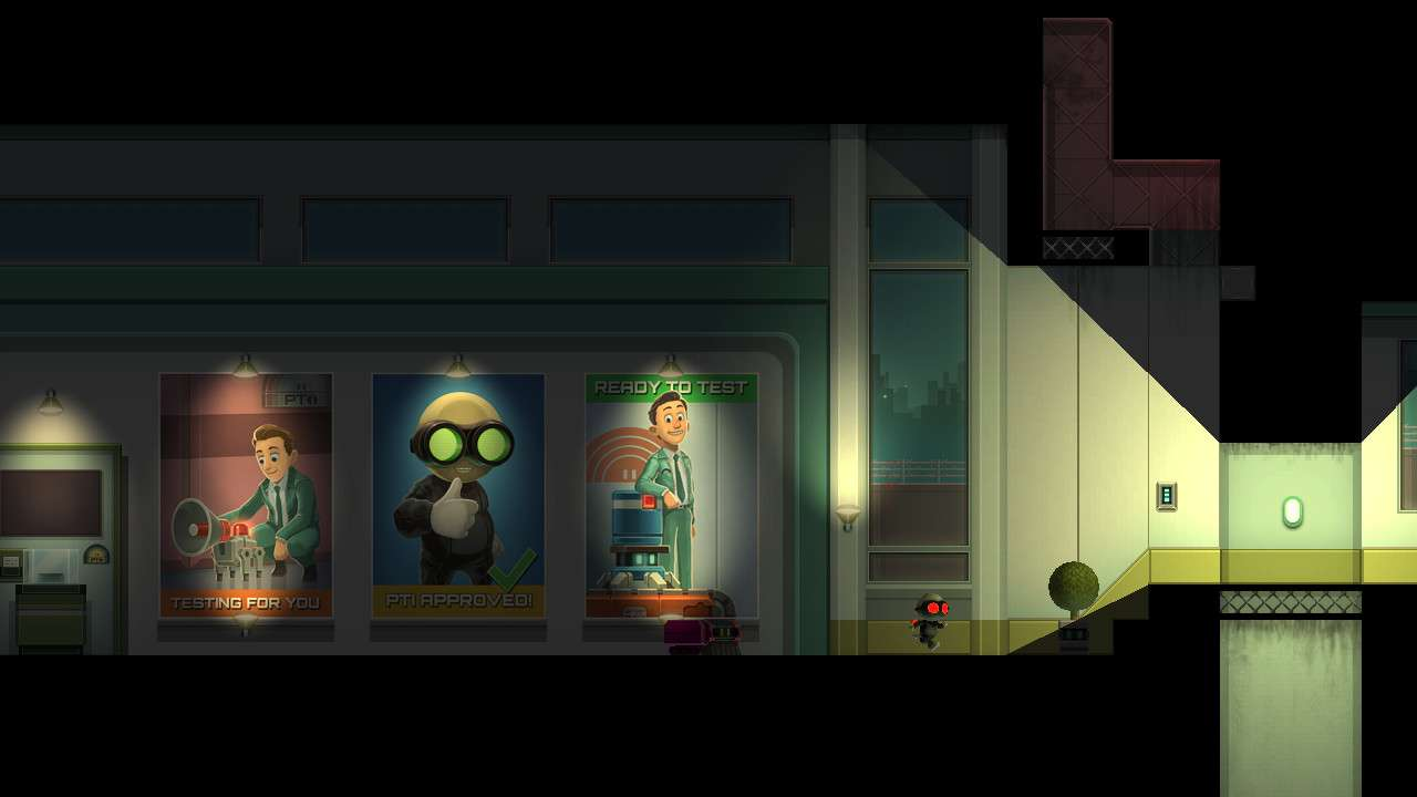 Screenshot from Stealth Inc 2: A Game of Clones (6/6)