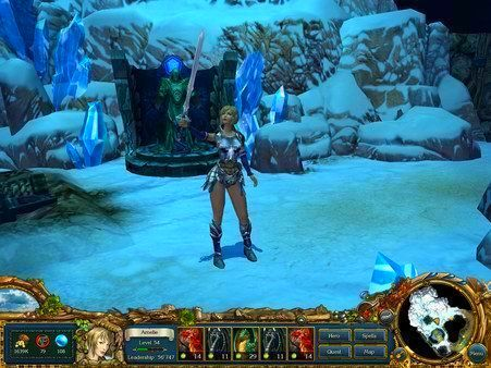Screenshot from King's Bounty: Crossworlds (2/5)