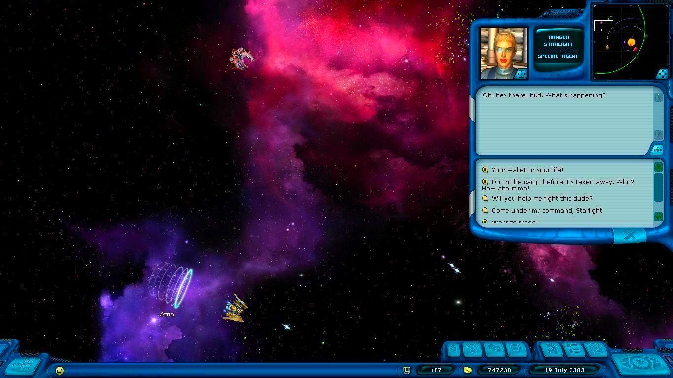 Screenshot from Space Rangers HD: A War Apart (5/6)