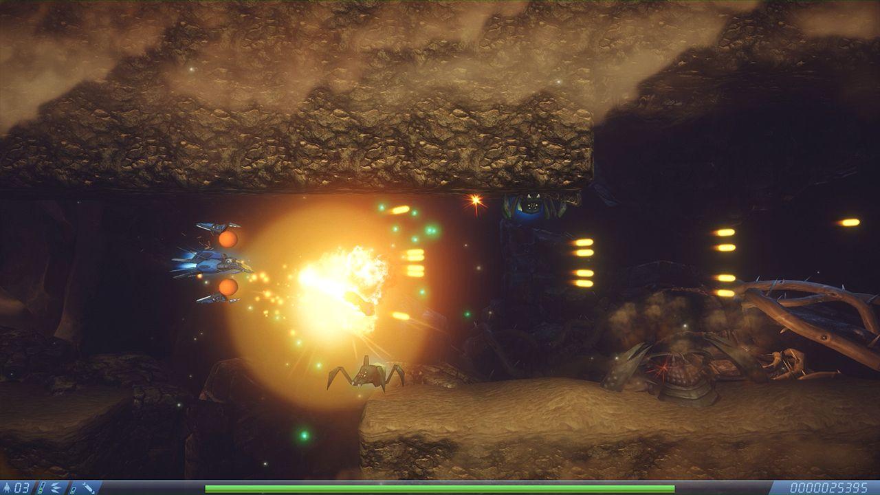 Screenshot from Rigid Force Alpha (6/7)
