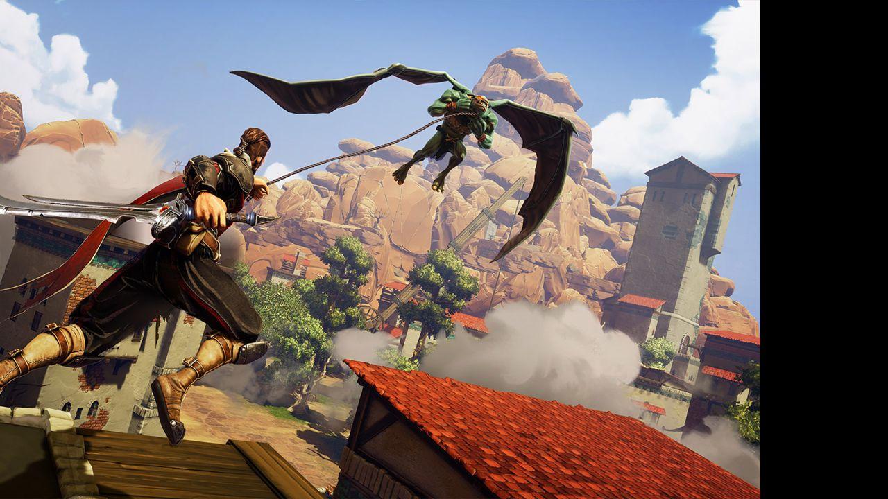 Screenshot from Extinction (4/5)