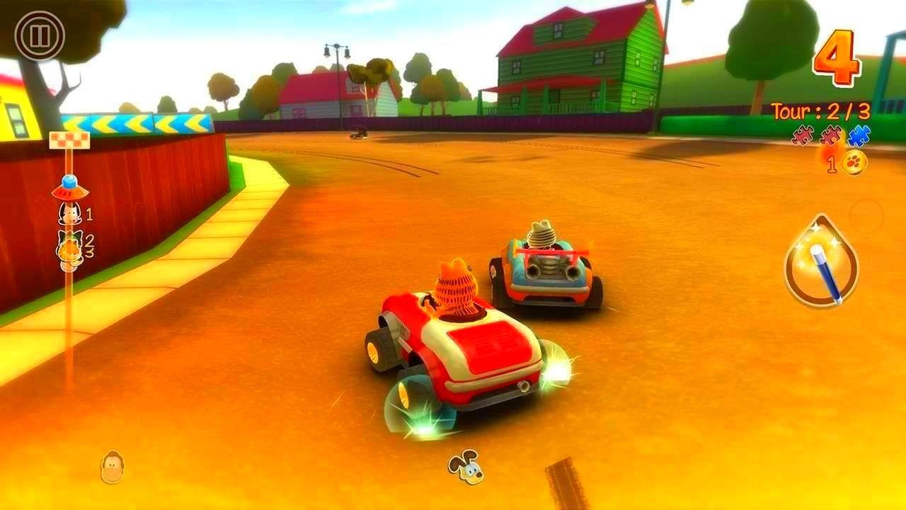 Screenshot from Garfield Kart (6/10)