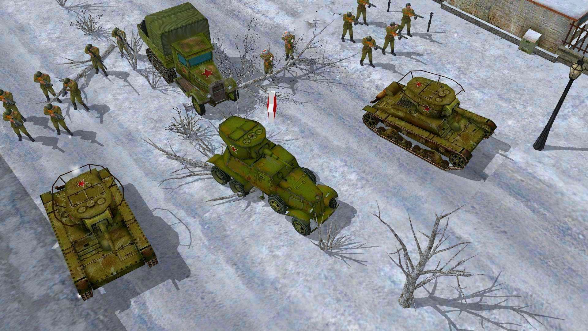 Screenshot from Codename: Panzers, Phase One (3/9)