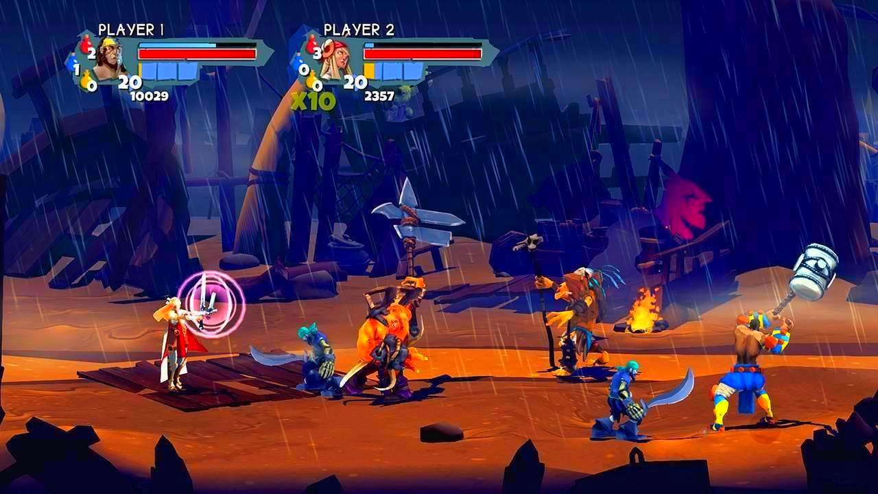 Screenshot from Sacred Citadel (9/9)