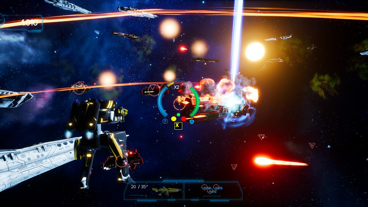Screenshot from Omnibion War (3/9)