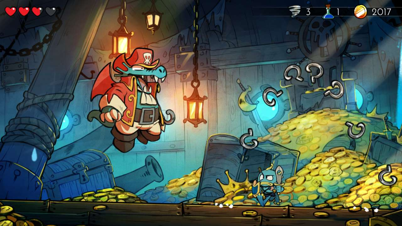 Screenshot from Wonder Boy: The Dragon's Trap (1/10)