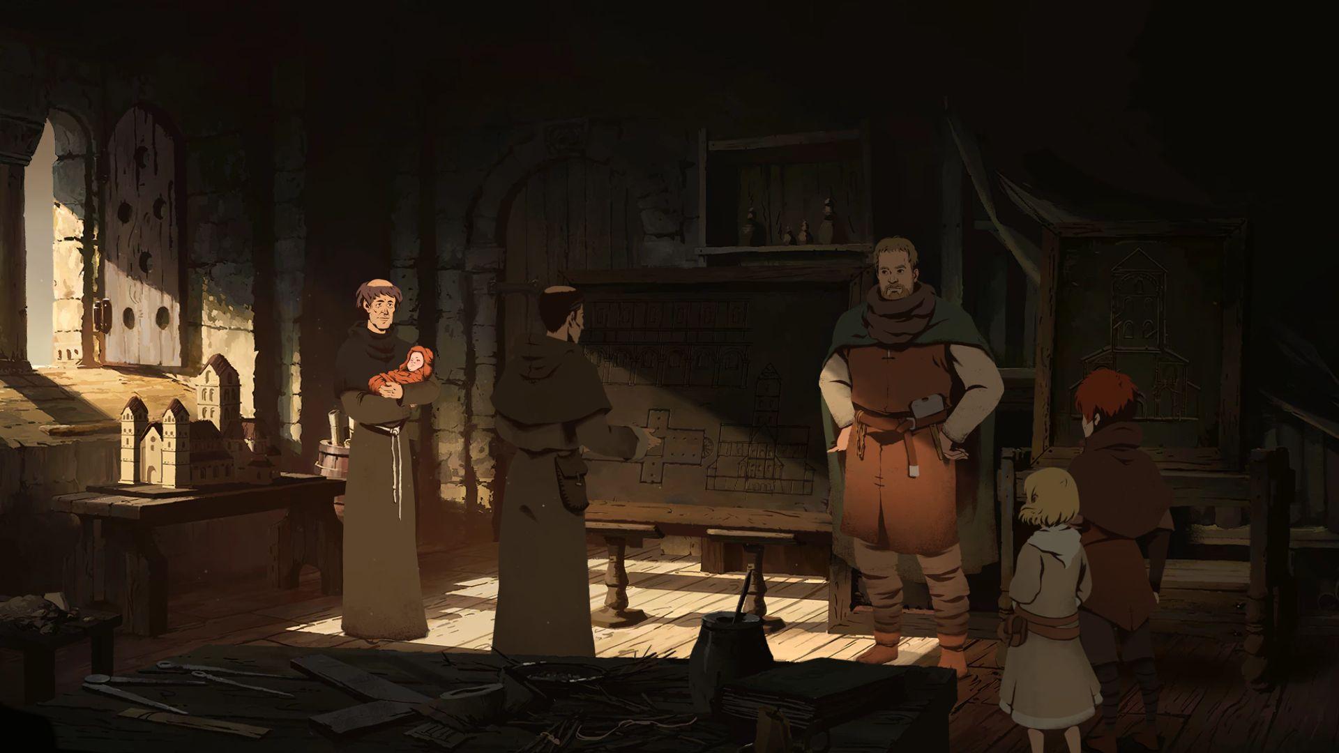 Screenshot from Ken Follett's The Pillars of the Earth (6/10)