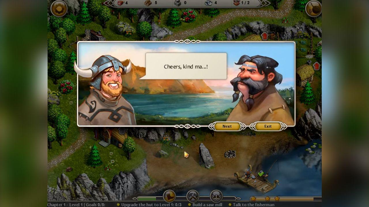 Screenshot from Viking Saga: The Cursed Ring (4/5)