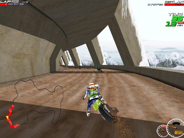 Screenshot from Moto Racer (6/8)