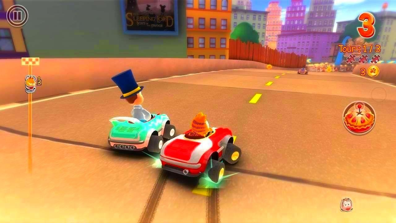 Screenshot from Garfield Kart (2/10)
