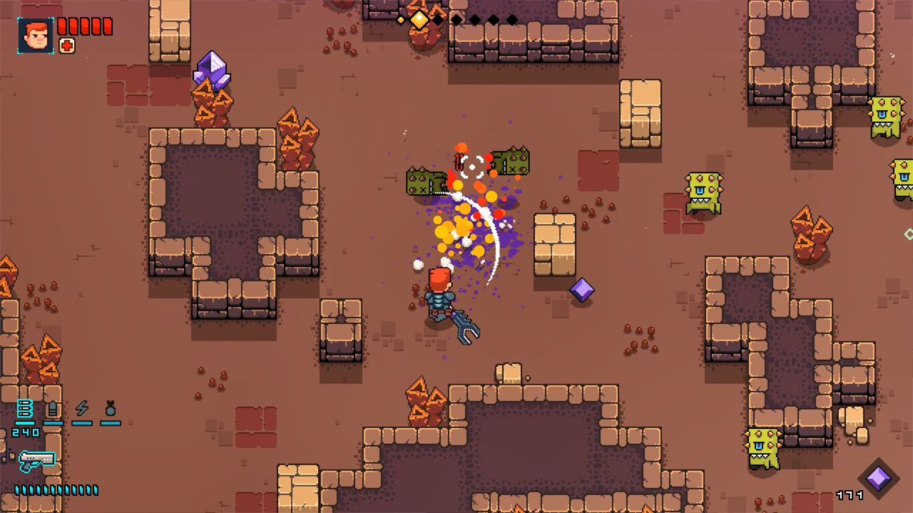 Screenshot from Space Robinson: Hardcore Roguelike Action (4/6)