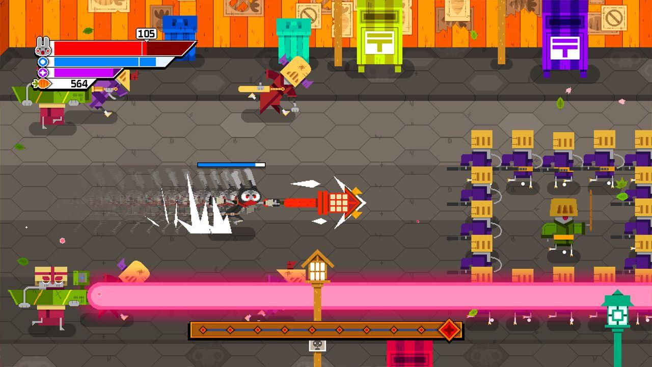 Screenshot from Ninjin: Clash of Carrots (2/9)