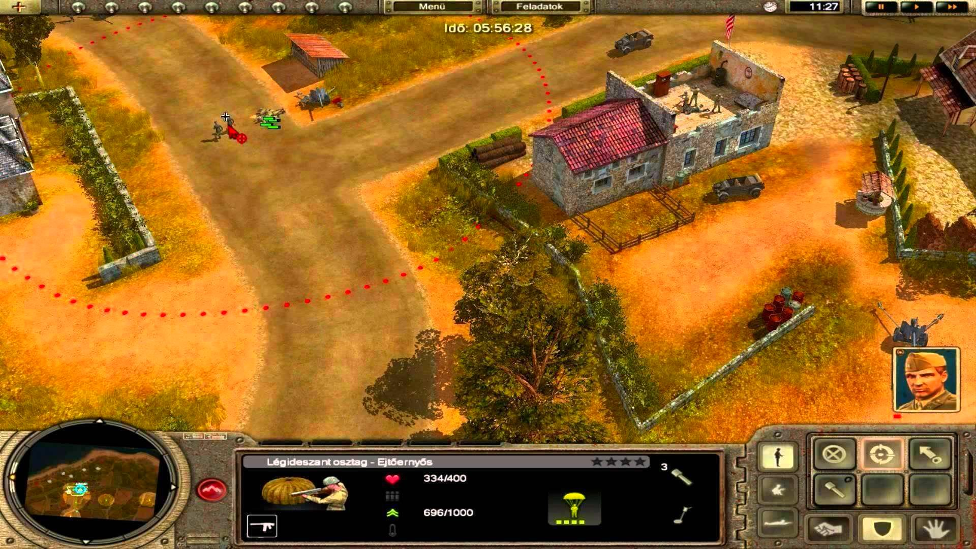 Screenshot from Codename: Panzers, Phase One (6/9)