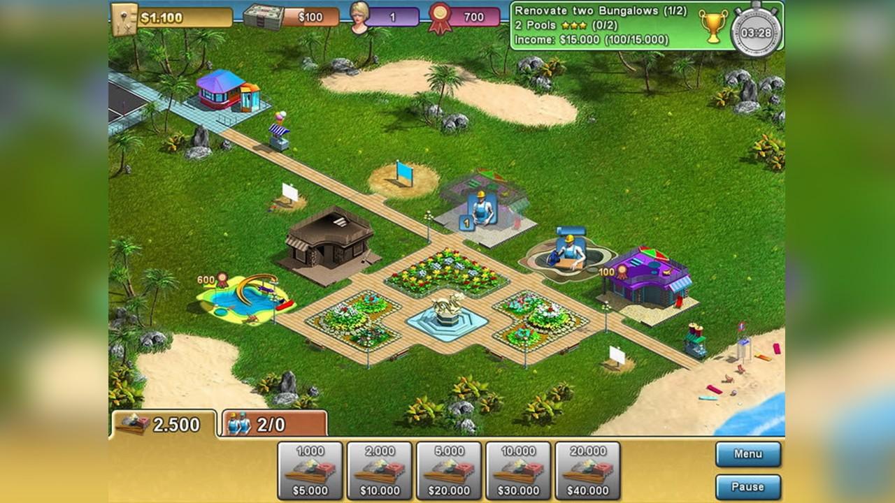 Screenshot from Summer Resort Mogul (4/5)