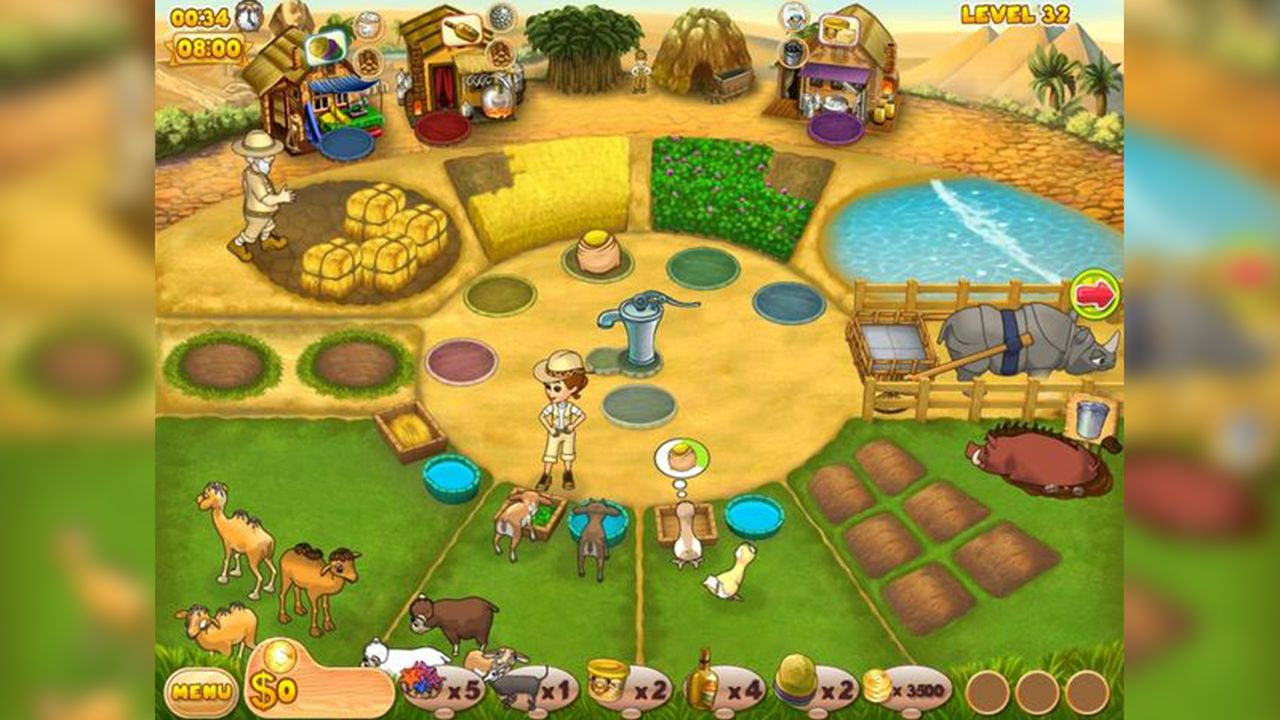 Screenshot from Farm Mania: Hot Vacation (6/6)