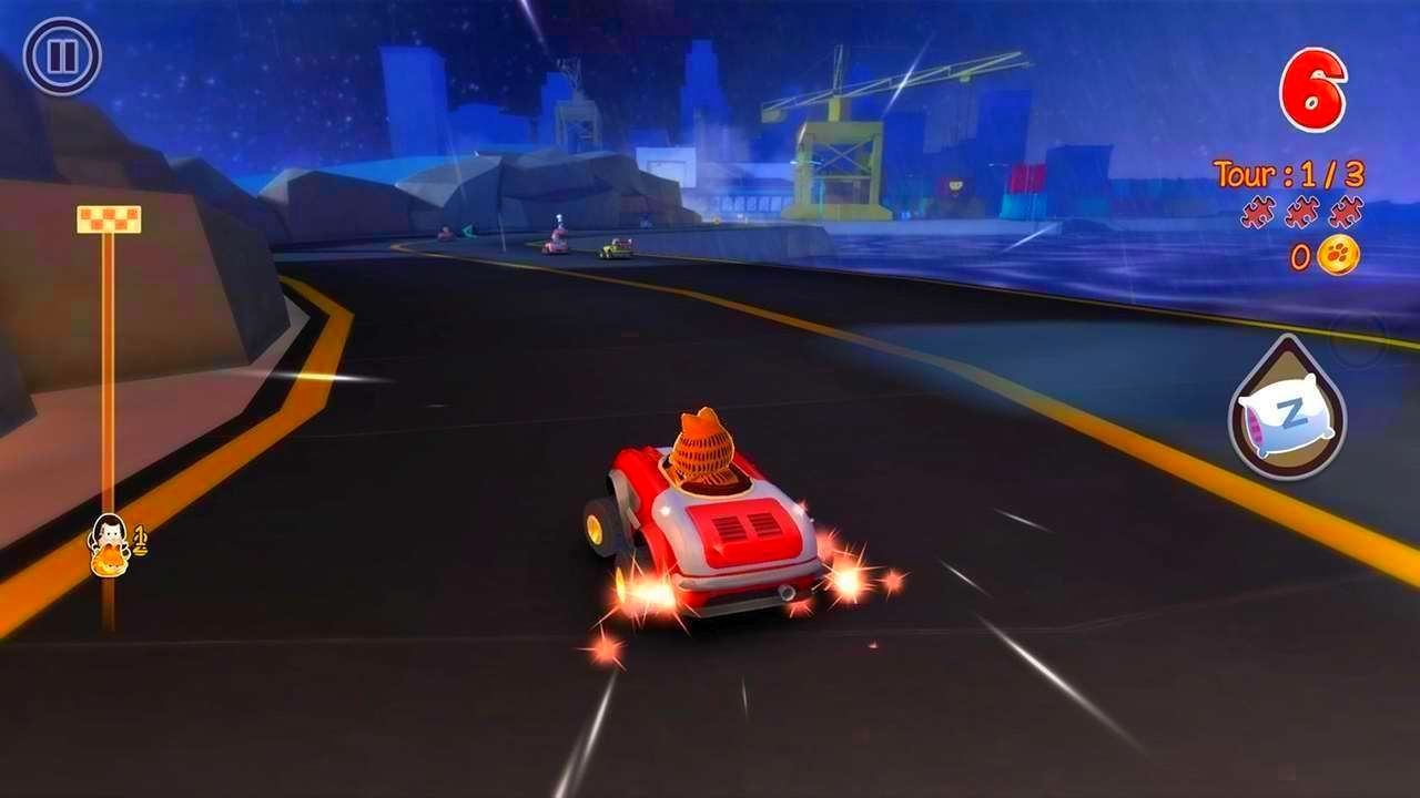 Screenshot from Garfield Kart (5/10)