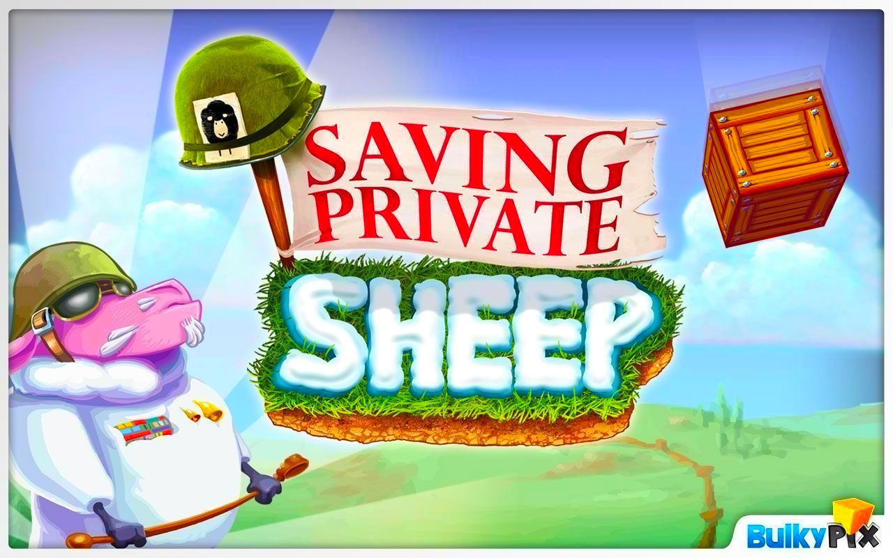 Screenshot from Saving Private Sheep (5/5)