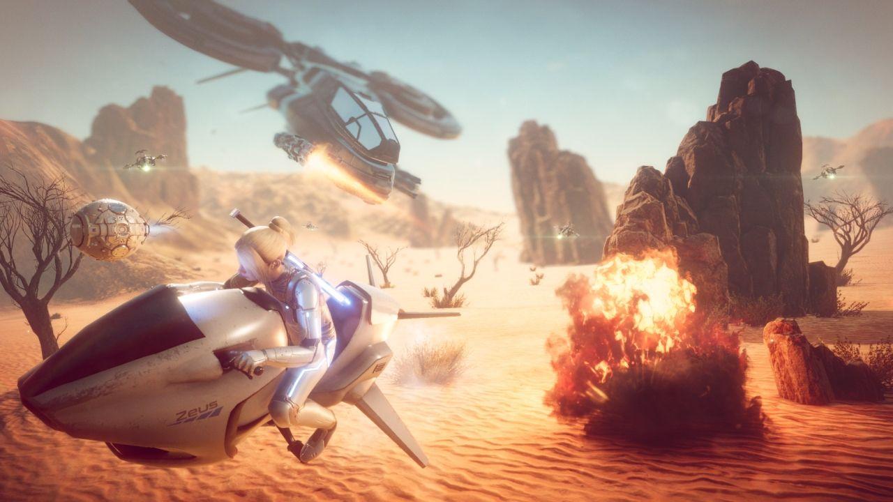 Screenshot from Everreach: Project Eden (1/6)
