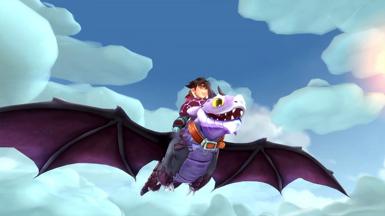 Screenshot from DreamWorks Dragons: Dawn of New Riders (1/9)