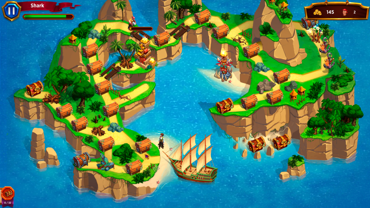 Screenshot from Merchants of the Caribbean Collector's Edition (3/5)